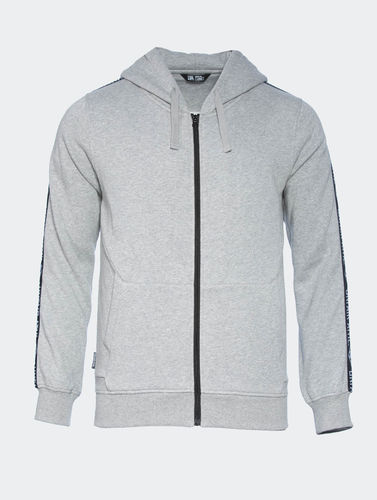 Unfair Athletics - Taped Zip Hoodie grey (SALE)