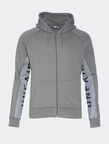 Unfair Athletics - Strech Zip Hoodie grey