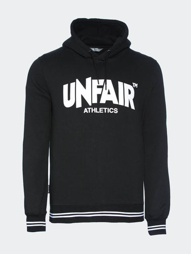 Unfair Athletics - Classic Label Hoodie (black)