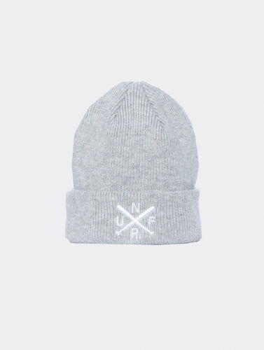 Unfair Athletics - UNFR Beanie heather grey (SALE)