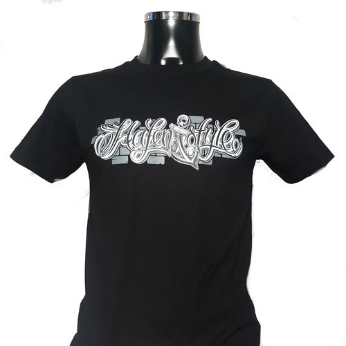 Hafenstyle - Wall Logo Black (T-Shirt)