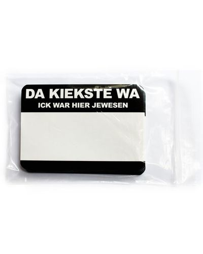 50er Sticker Pack - DA KIEKSTE WA