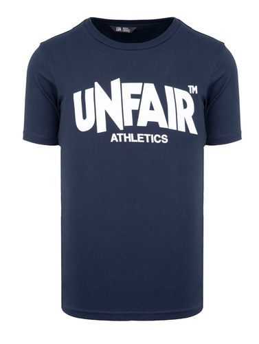 Unfair Athletics - Classic  Label T-Shirt  (navy)