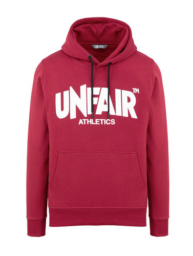 Unfair Athletics - Classic Label Hoodie (burgundy) ***SALE***