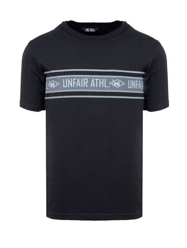 Unfair Athletics - Athl. Striped T-Shirt (black)