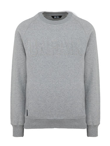 Unfair Athletics - One Tone Sweatshirt (grey) ***SALE***