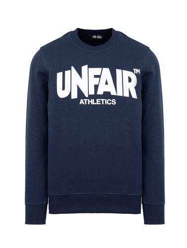 Unfair Athletics - Classic Label Crewneck (Navy)
