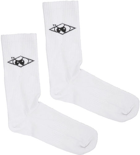 Unfair Athletics - Hash Sports Socks (white)