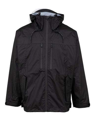 Unfair Athletics - Athl. Storm Jacket (black) (50 % SALE)