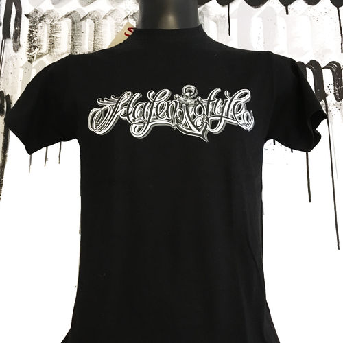 Hafenstyle - Classic Logo T-Shirt (Black) ***LOCK DOWN***