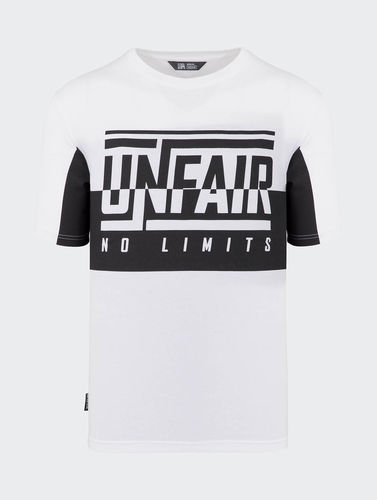 Unfair Athletics - No Limits T-Shirt (White / Black) ***LOCK DOWN***