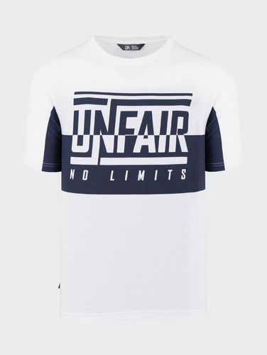 Unfair Athletics - No Limits T-Shirt (White / Navy) ***LOCK DOWN***