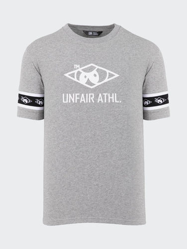 Unfair Athletics - Big Hash T-Shirt (Heather Grey) ***SALE***
