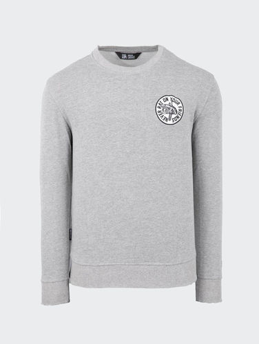 Unfair Athletics - Never Rat Crewneck (Heather Grey) ***SALE***