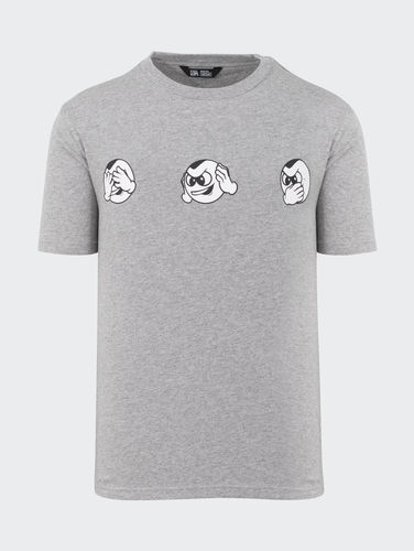 Unfair Atheltics - No Evil PB T-Shirt (Heather Grey) ***SALE***