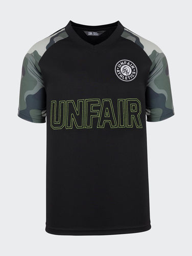 Unfair Athletics - Black Camo Football Jersey