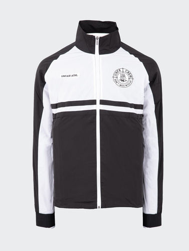 Unfair Atheltics - Light Carbon Windrunner TT (Black / White) ***SALE***