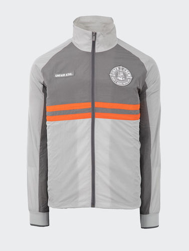 Unfair Athletics - Light Carbon Windrunner TT (Grey / Orange) ***SALE***