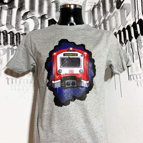 Hafenstyle - Metro Front T-Shirt (heather grey) ***SALE***