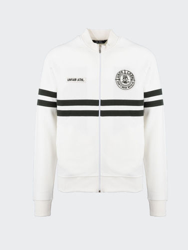 Unfair Athletics - DMWU Pique Tennis Tracktop (white) ***SALE**