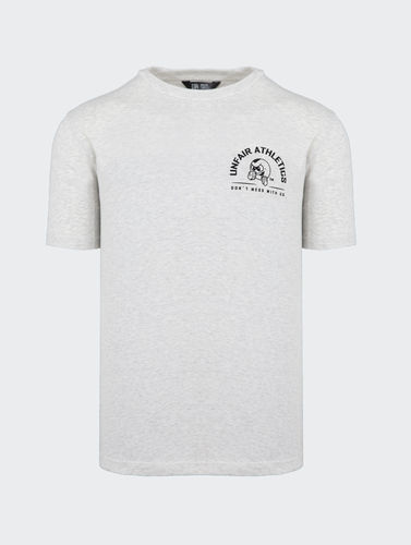 Unfair Athletics - Punchingball Hybrid T-Shirt (off white)