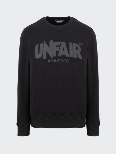 Unfair Athletics - Classic Label All Black Crewneck (black) ***SALE***