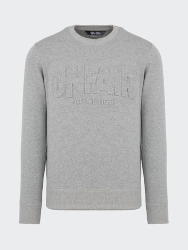 Unfair Athletics - Classic Label 3D Crewneck (grey) **SALE***