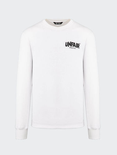 Unfair Athletics - Classic Label Longsleeve BP (white) ***SALE***