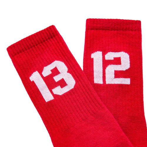 Sixblox  - 1312 Socken (red / white)