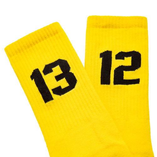 Sixblox  - 1312 Socken (yellow / black)