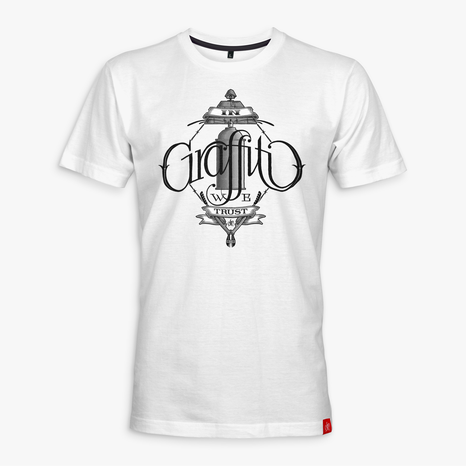 Ohm One - In Graffiti We Trust T-Shirt (white) ***SALE***