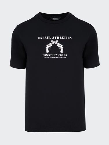 Unfair Athletics - Only Easy Day T-Shirt (black) ***LOCK DOWN***