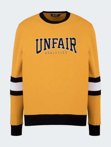 Unfair Athletics - College Crewneck Yellow ***SALE***