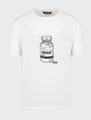 Unfair Athletics - Supplement T-Shirt (white) ***SALE***