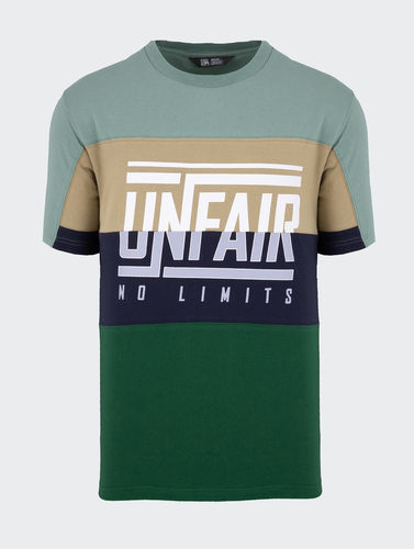 Unfair Athletics - No Limits T-Shirt (green mix) ***SALE***