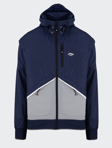 Unfair Athletics - Hash Zip Tracktop (navy) ***SALE***