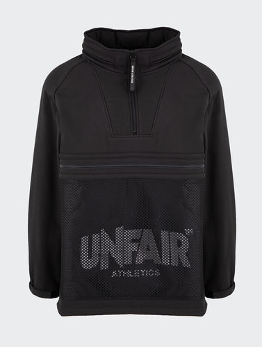 Unfair Athletics - Softshell Halfzip (black) ***SALE***
