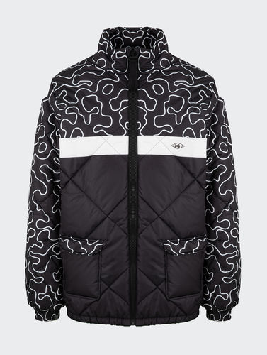 Unfair Athletics - DMWU Puffer Jacket (zebra/camo) ***SALE***
