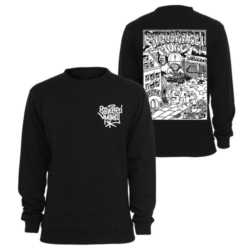Steuerfreimoney - Kiez Sweater (black) ***LOCK DOWN***