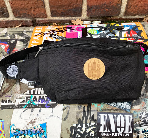 Hafenstyle - HS Wappen Hip Bag (black)