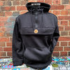 Hafenstyle - HS Wappen Over-Hoodie (black) bis 5 XL ***SALE***