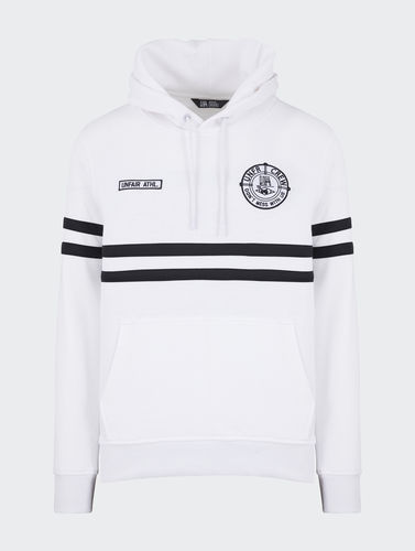 Unfair Athletics - DMWU Hoodie (white / black) ***SALE***