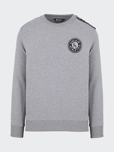 Unfair Athletics - Hybrid Taped Crewneck (grey) ***LOCK DOWN***