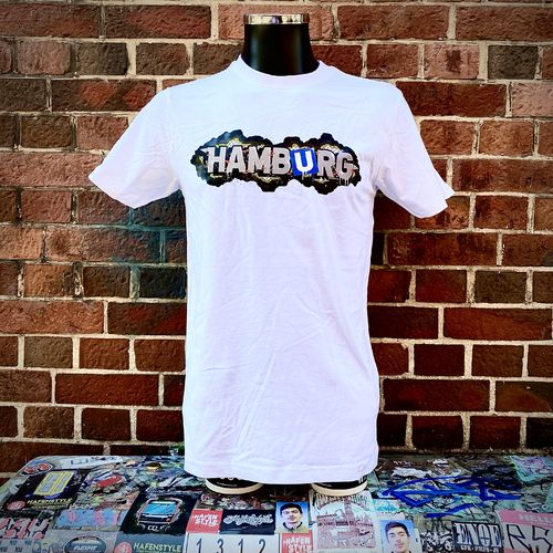 Hafenstyle - Hamburg Fence T-Shirt (white) ***LOCK DOWN***