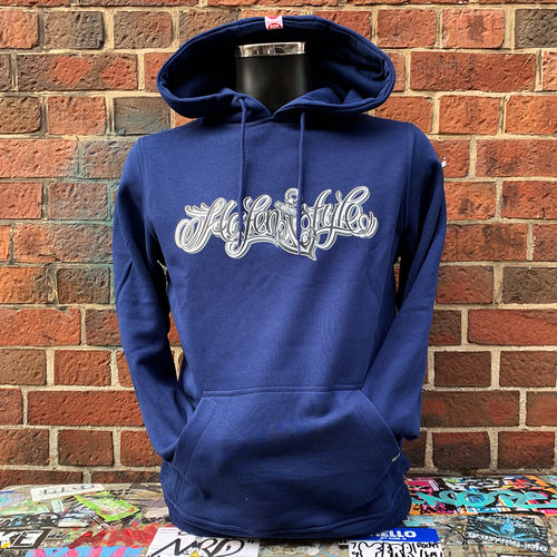 Hafenstyle - Classic Logo Hoodie (blue) ***SALE***