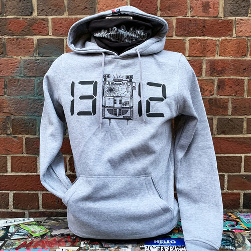 Riot Sports - 1312 Time Hoodie (grey) ***LOCK DOWN***