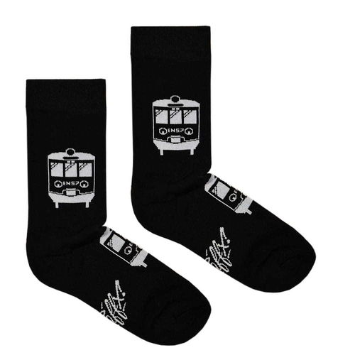 Traffx - REGIO EN-57 Frotte Socken (black) ***LOCK DOWN***