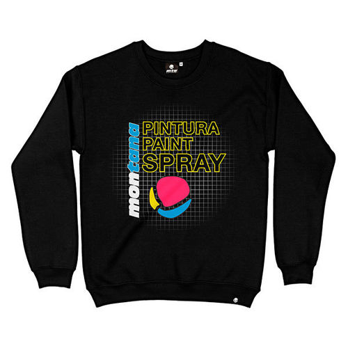 MTN Montana Colors - MTN Sweatshirt Hardcore 25th (black)