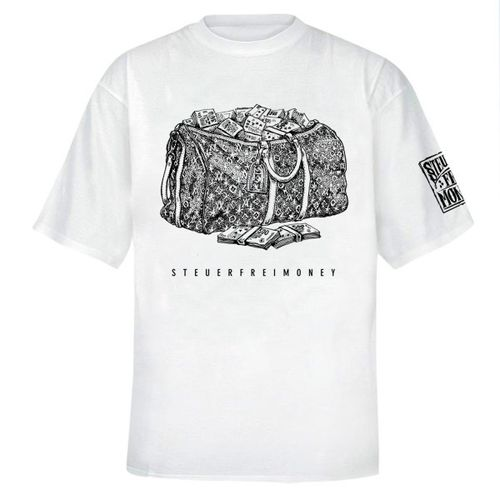Steuerfreimoney - Moneybag T-Shirt (white)