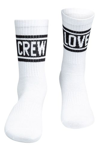 Sixblox  - CREW LOVE (white / black)